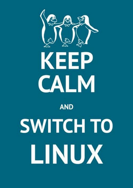 Keep Calm [And Switch to Linux]