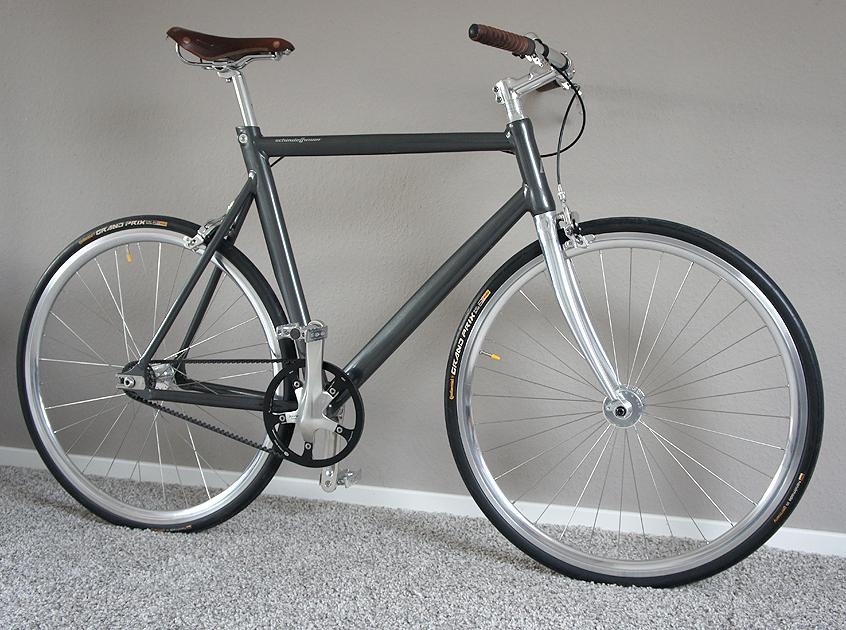 New Schindelhauer Siegfried bike after the first one was stolen
